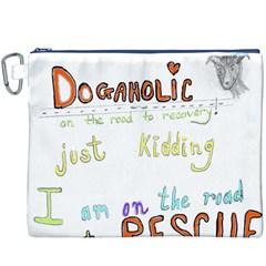 D0gaholic Canvas Cosmetic Bag (XXXL)