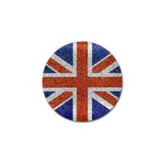 England Flag Grunge Style Print Golf Ball Marker 10 Pack