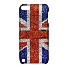 England Flag Grunge Style Print Apple Ipod Touch 5 Hardshell Case With Stand