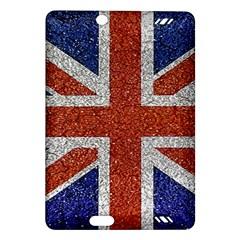 England Flag Grunge Style Print Kindle Fire HD (2013) Hardshell Case
