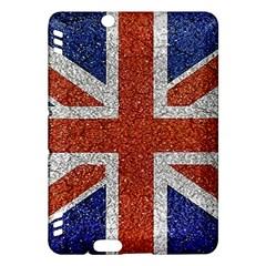 England Flag Grunge Style Print Kindle Fire HDX Hardshell Case