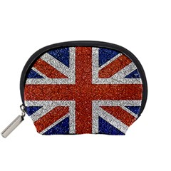 England Flag Grunge Style Print Accessory Pouch (small)