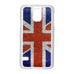England Flag Grunge Style Print Samsung Galaxy S5 Case (white)