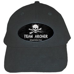 R Archer Black Baseball Cap