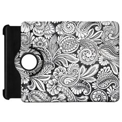 Floral Swirls Kindle Fire Hd Flip 360 Case