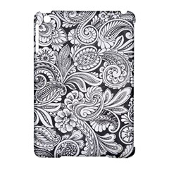 Floral Swirls Apple Ipad Mini Hardshell Case (compatible With Smart Cover)