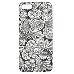 Floral Swirls Apple Iphone 5 Hardshell Case With Stand