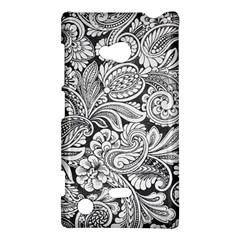 floral swirls Nokia Lumia 720 Hardshell Case
