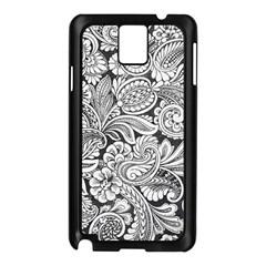 Floral Swirls Samsung Galaxy Note 3 N9005 Case (black)