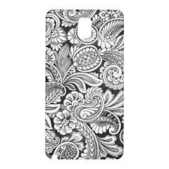 floral swirls Samsung Galaxy Note 3 N9005 Hardshell Back Case