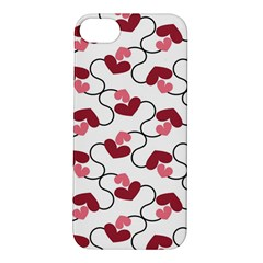 Hearts Apple Iphone 5s Hardshell Case