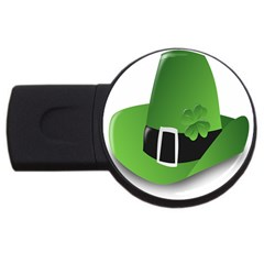 Irish Shamrock Hat152049 640 2gb Usb Flash Drive (round)
