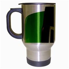 Irish Shamrock Hat152049 640 Travel Mug (silver Gray)
