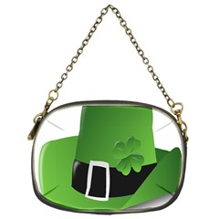 Irish Shamrock Hat152049 640 Chain Purse (one Side)