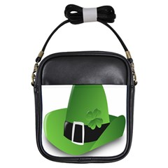Irish Shamrock Hat152049 640 Girl s Sling Bag