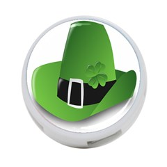 Irish Shamrock Hat152049 640 4 Port Usb Hub (one Side)