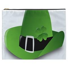 Irish Shamrock Hat152049 640 Cosmetic Bag (xxxl)