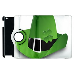 Irish Shamrock Hat152049 640 Apple iPad 2 Flip 360 Case