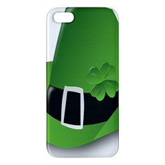 Irish Shamrock Hat152049 640 Apple Iphone 5 Premium Hardshell Case