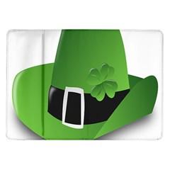 Irish Shamrock Hat152049 640 Samsung Galaxy Tab 10.1  P7500 Flip Case