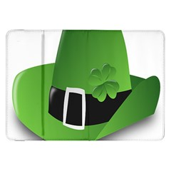 Irish Shamrock Hat152049 640 Samsung Galaxy Tab 8.9  P7300 Flip Case