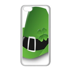 Irish Shamrock Hat152049 640 Apple iPhone 5C Seamless Case (White)