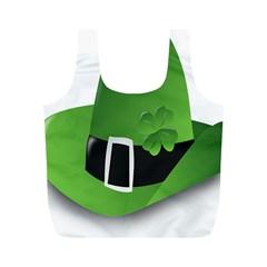 Irish Shamrock Hat152049 640 Reusable Bag (M)