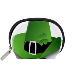 Irish Shamrock Hat152049 640 Accessory Pouch (Small)