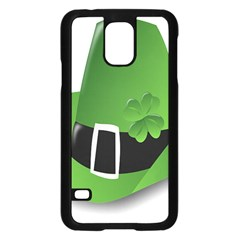 Irish Shamrock Hat152049 640 Samsung Galaxy S5 Case (Black)