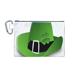 Irish Shamrock Hat152049 640 Canvas Cosmetic Bag (Medium)