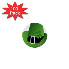 Irish Shamrock Hat152049 640 1  Mini Button (100 Pack)