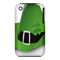 Irish Shamrock Hat152049 640 Apple Iphone 3g/3gs Hardshell Case (pc+silicone)