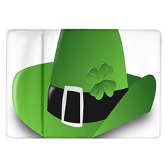 Irish Shamrock Hat152049 640 Samsung Galaxy Tab 10.1  P7500 Flip Case