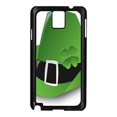 Irish Shamrock Hat152049 640 Samsung Galaxy Note 3 N9005 Case (Black)