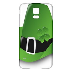 Irish Shamrock Hat152049 640 Samsung Galaxy S5 Back Case (white)