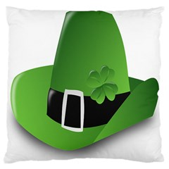 Irish Shamrock Hat152049 640 Standard Flano Cushion Case (one Side)