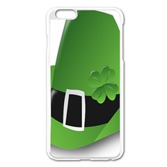 Irish Shamrock Hat152049 640 Apple iPhone 6 Plus Enamel White Case
