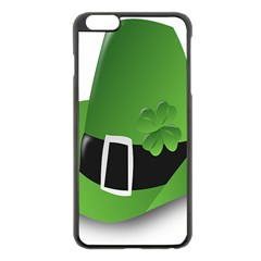 Irish Shamrock Hat152049 640 Apple Iphone 6 Plus Black Enamel Case