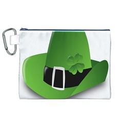 Irish Shamrock Hat152049 640 Canvas Cosmetic Bag (XL)