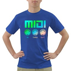 Midi Colorful Men s T Shirt (colored)