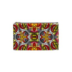 Crazy Lip Abstract Cosmetic Bag (small)