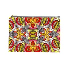 Crazy Lip Abstract Cosmetic Bag (large)