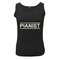 Pianist (useful Design) Women s Tank Top (black)
