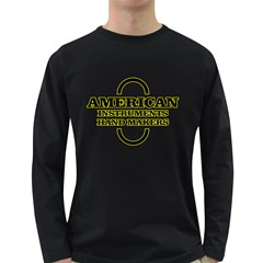 American Ihm  Men s Long Sleeve T Shirt (dark Colored)