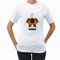 Wonderful Acoustic Guitar Parts Women s T-Shirt (White)
