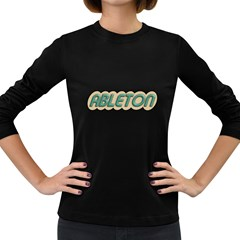 Ableton Old Women s Long Sleeve T-shirt (Dark Colored)