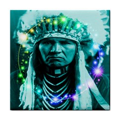Magical Indian Chief Ceramic Tile
