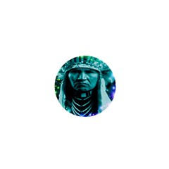 Magical Indian Chief 1  Mini Button Magnet