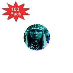 Magical Indian Chief 1  Mini Button (100 Pack)