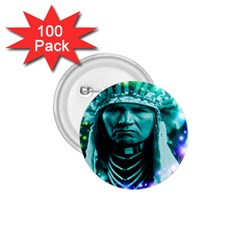 Magical Indian Chief 1 75  Button (100 Pack)